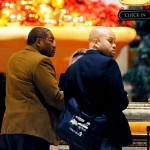 Gregory Meeks (left) checks in at the Bellagio where he takes a trip to meet with lobbyist using campaign funds