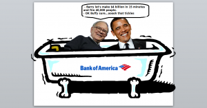 Buffet and Obama fired 40,000 workers in one day
