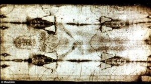 Shrpoud of Turin Created by supernatural light