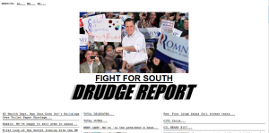 Drudge was in the bag for Romeny all along