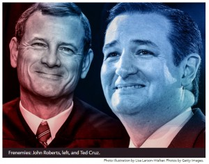 CAN WE AFFORD TO HAVE TED Cruz appoint four more justices like John Roberts